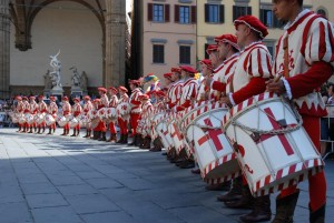 Historical parade Florence