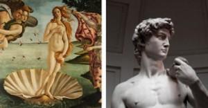 Venus David in Florence