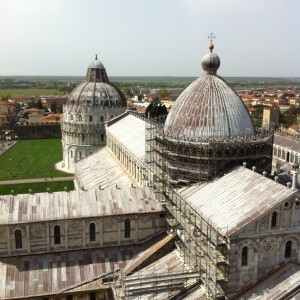 The Miracles Square in Pisa