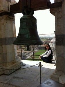 The Bell on the Leaning Tower of Pisa