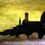 Pisa-Italy-Sunset-Grungy-Modern-Skyline-Art_art