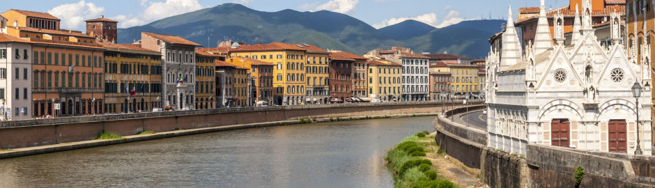 The Riverside of Pisa